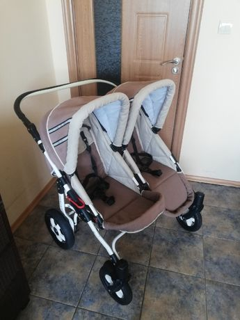 Бебешка количка за близнаци /породени деца S-max Double