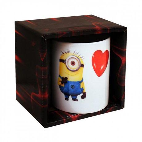 Чаша с Миньон и сърце