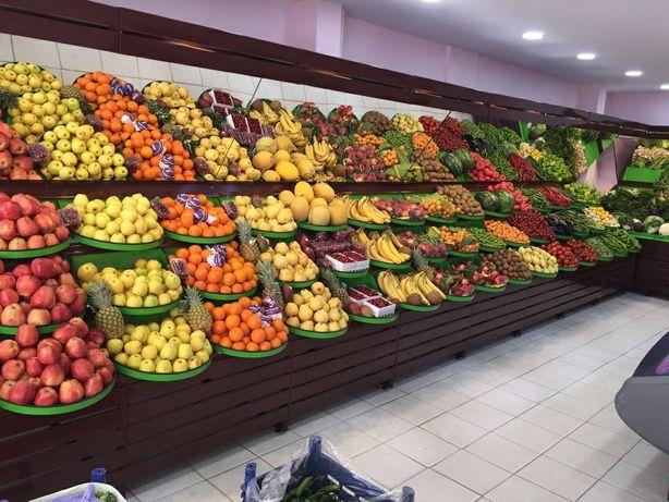 Овощной отдел 8 м2 Бокейхана