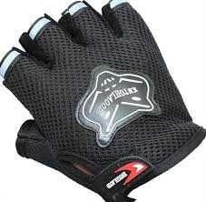Nou mănuși negre pentru bicicleta, mănuși universale