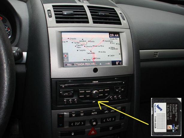 Harti navigatie Peugeot 308 508 5008 807 WipNav (RNEG) Europa 2019