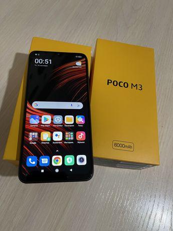 Poco M3 Black 128gb новый