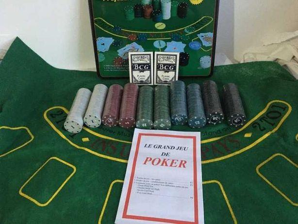 Trusa Poker 200, 300, 500 Jetoane Inscriptionate. Cutie metalica – NOU