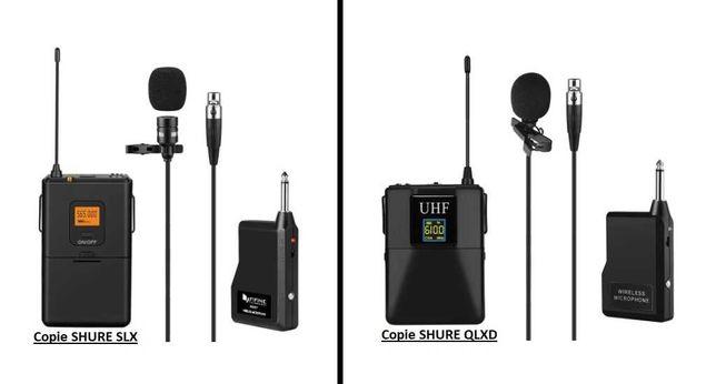Sistem Wireless Microfon Lavaliera ( copie SHURE SLX - SHURE QLXD )