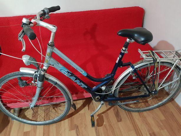 Bicicleta dama Giant si Roata 24 fata disc spate