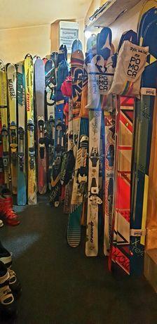 Echipament complet schi / ski de tură (Fischer, Dynafit, Movement, K2)