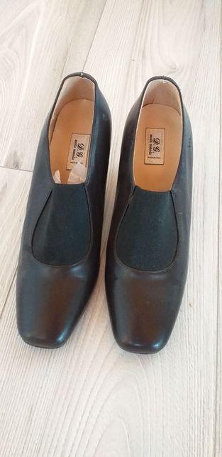 Pantofi dama cu toc de.piele
