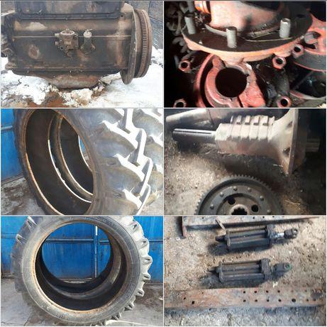 Motor,cauciucuri,trompa,cilindru,traversa,placa presiune Tractor u650
