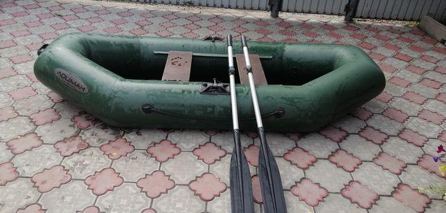 Лодка ПВХ, двухместная, производство Россия