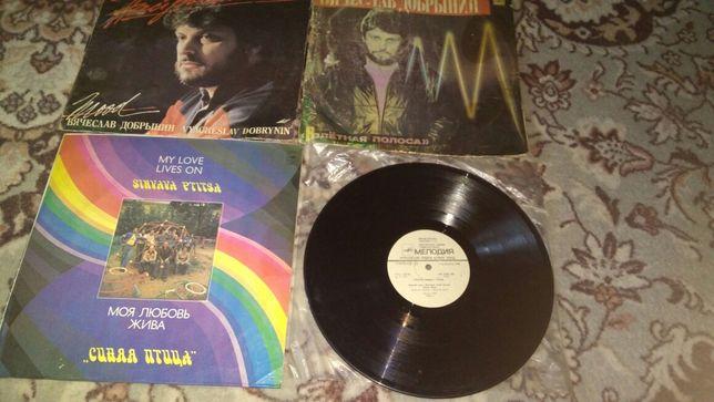Пластинки советских и зарубежных исполнителей