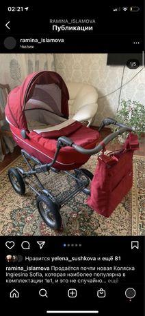 Срочно Продается шикарная коляска Inglesina!