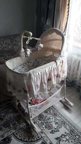 Кровать качалка детская
