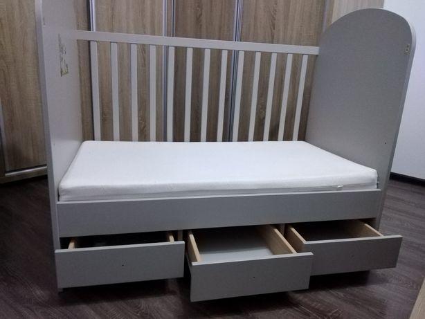 Vând Pătuț Copil Ikea 60x120