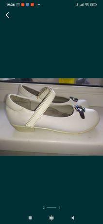 туфли белые 31 р 20 см стелька