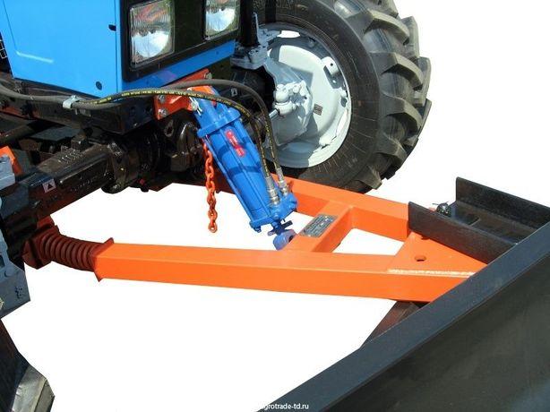 Отвал коммунальный поворотный механический универсальный на МТЗ