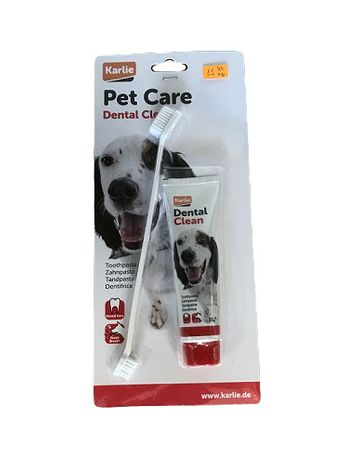 Karlie - Паста и Четка за зъби за Куче - Denta Care