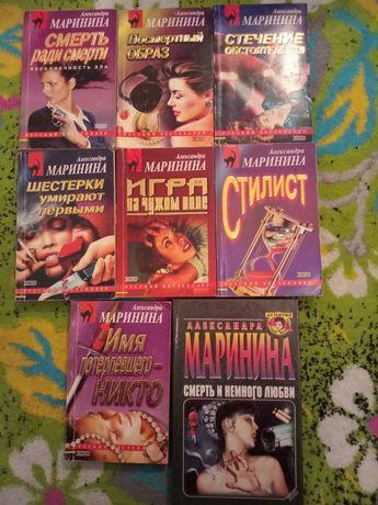 Книги детективы Шелдон, Маринина, Литвиновы, Устинова