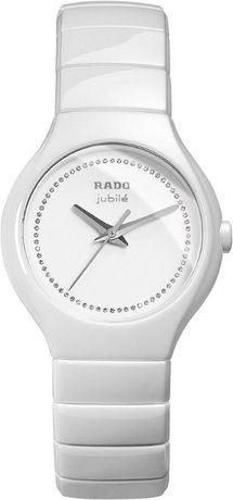 Дамски часовник Rado True Jubile White Ceramic Diamonds