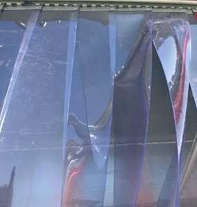 Теплоизолирующие завесы шторы из ПВХ