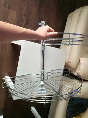 Кухненска неизползвана кошница за глух ъгъл