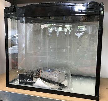 Аквариум с капак - 52L + LED осветлениe и вградена филтърна система
