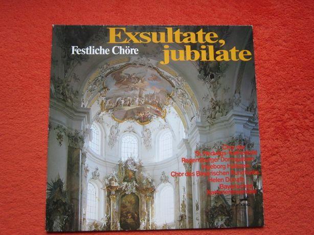 vinil rar Exsultate, jubilate&Jubilate Deo-baroc di Lasso,Palestrina,