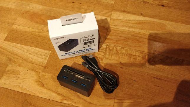LogiLink HUB USB 3.0 cu all-in-one card reader