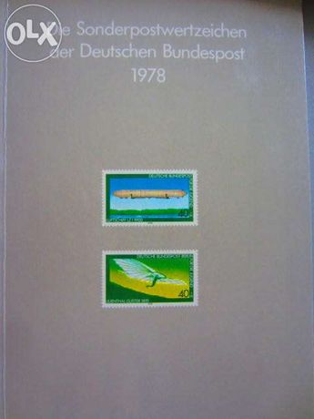 Anuarul Marcilor Postale 1978 Germania - filatelie complet