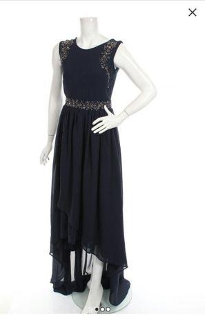 Rochie eleganta cusuta cu margele