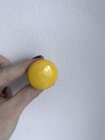 Mâner dulap din ceramica 8 buc, galben