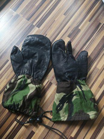 Mănuși pentru armă din piele (vânătoare)