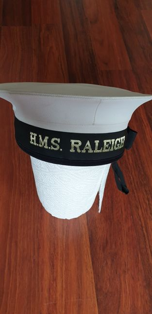 hms raleigh sailor marinar hat 57 cm