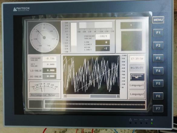 "Тouch screen display HITECH HMI PWS6A00F-P (10.4"")"