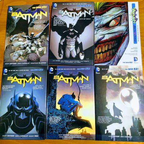 Комикси Batman New 52 Court of Owls, Year One, Dark Knights Returns