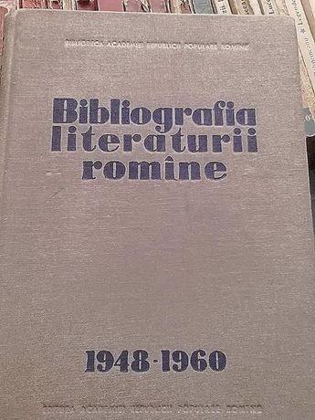 Bibliografia literaturii romane 1948-1960