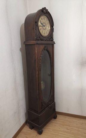 Немецкие напольные часы. Gustav Backer