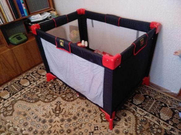 Кошара за спане и игра за бебе, дете до 3 години