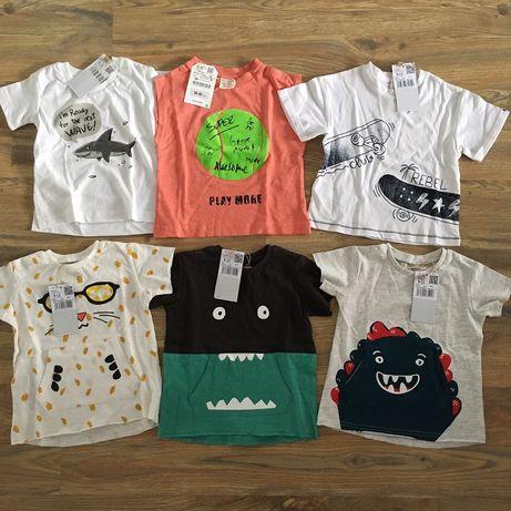 Vand tricouri baieti - Mango/ Zara -9/12 luni