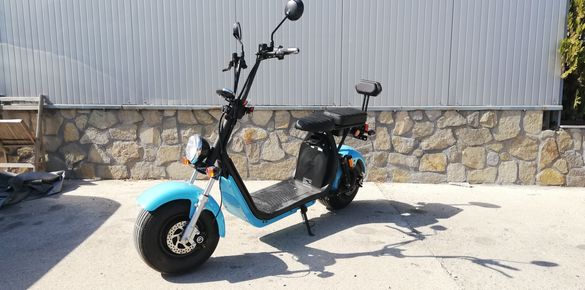 Електрически скутер мотор harley 1500w 60V/13AH Li-Po модел 2020г