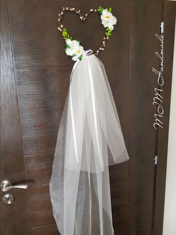 Сватбен аксероар, украса венец за врата