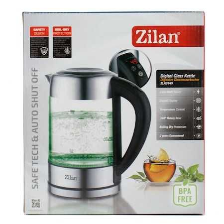 Fierbator Digital ZILAN ZLN-3949, 2200W, 1.7L, Control Temperatura