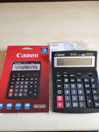 Calculator de birou CANON WS-1610T, 16 cifre, negru