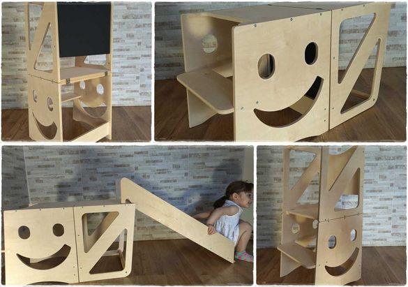 Smile Learning Tower / Кула Монтесори 5 в 1 / Помощна кула