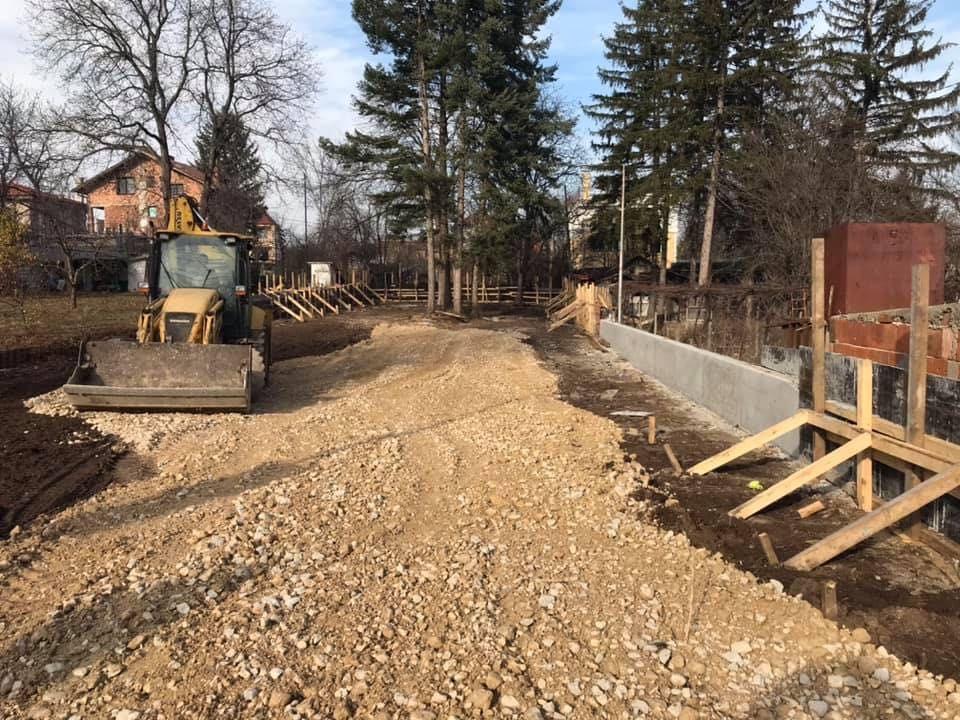 Строителство на къщи. Груб строеж, бетонови съоражения, покриви