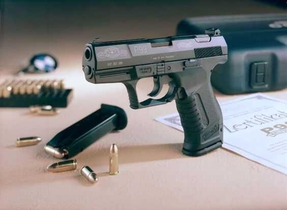 Pistol Airsoft Netetal/ Blow-Back/ 4j/ Co2 Walther P99