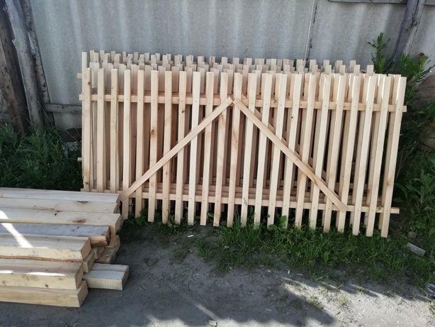 Штакетник для дачи и дома (забор)
