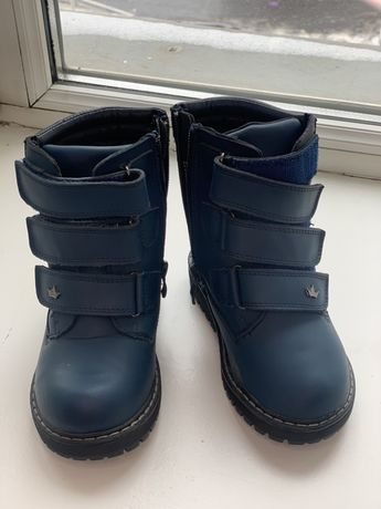 Новые зимние сапоги на девочки 25 размер