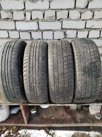 Продам шины на r15 205/65 лето в хорошем состоянии 30000тенге