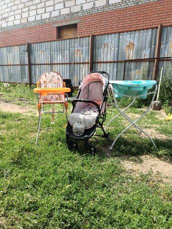 Товар для детей коляска стульчик ванночка
