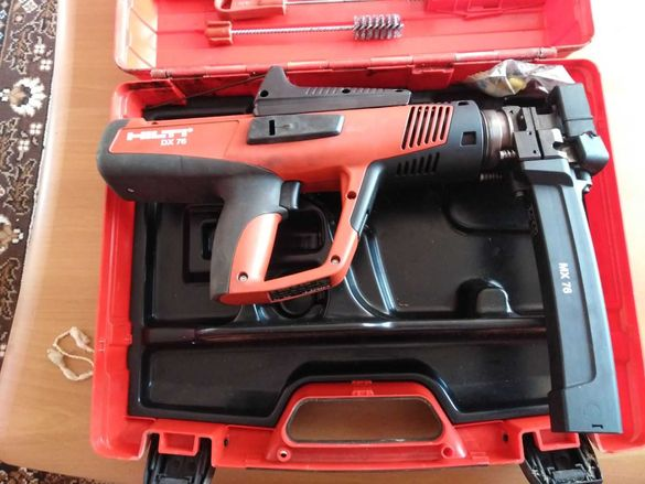 Пушка за директен монтаж DX 76 MX (марка Хилти)